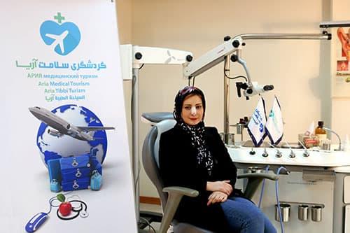 جراحی بینی دانشجوی مقیم اروپا در ایران
